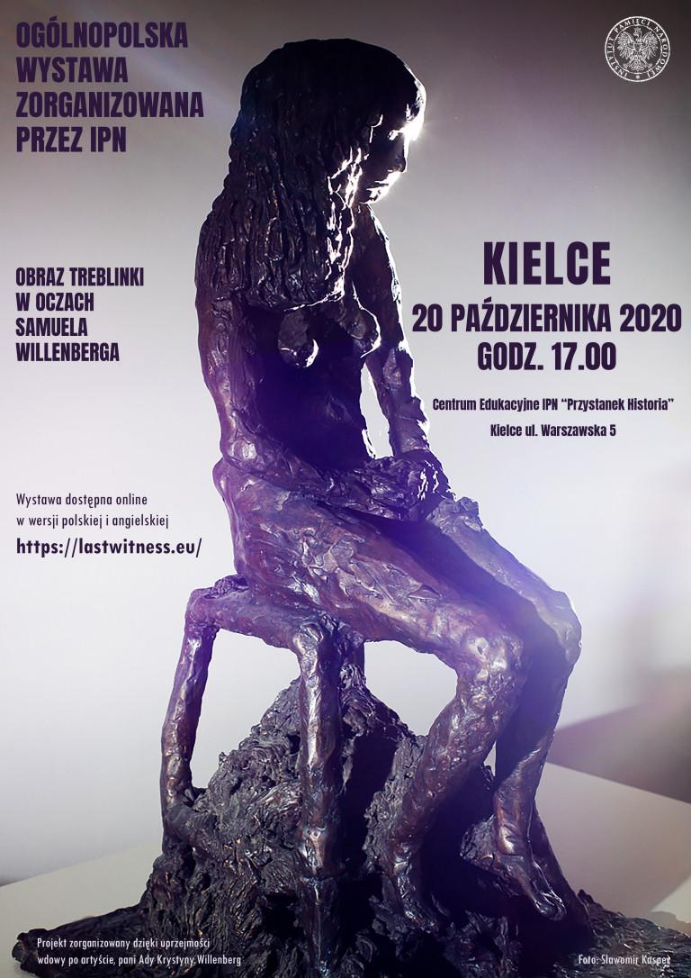Rzeźba - postać więźnia Treblinki