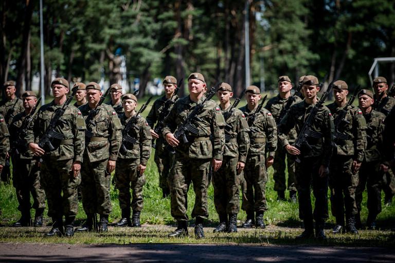 apel w Świętokrzyskiej Brygadzie Obrony Terytorialnej