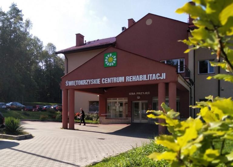 Budynek Świętokrzyskiego Centrum Rehabilitacji
