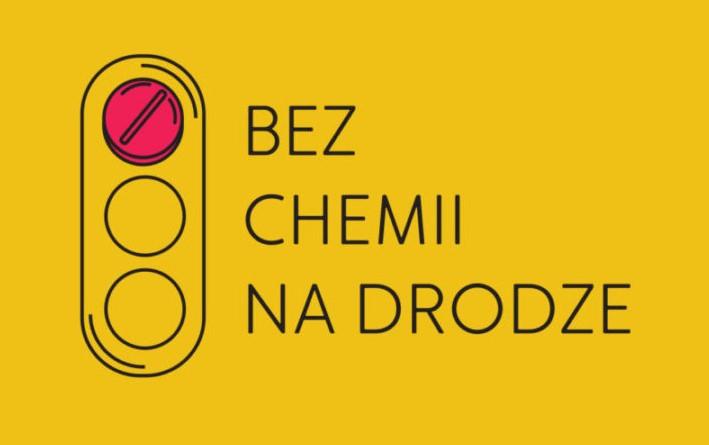 Logo akcji pn. Bez Chemii Na Drodze