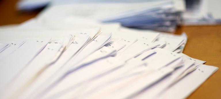 Plik papierów