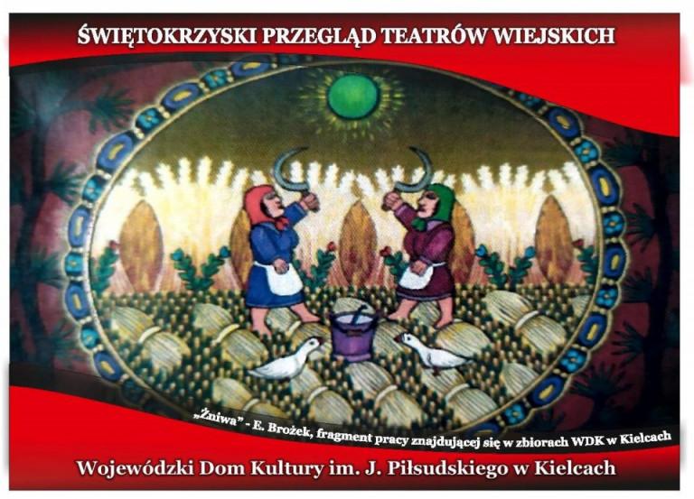 Świętokrzyski Przegląd Teatrów Wiejskich Grafika