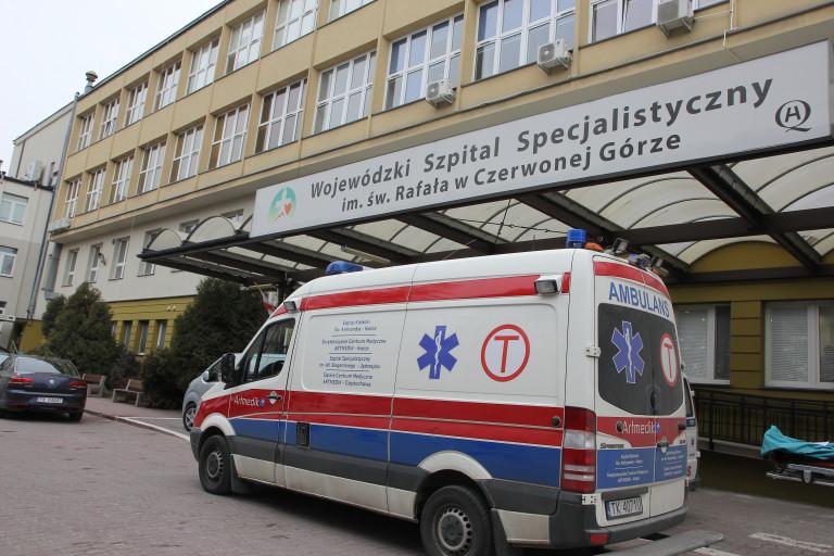 Budynek Szpitala Specjalistycznego W Czerwonej Górze.