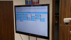 Ekran podczas zdalnej sesji Sejmiku Województwa Świętokrzyskiego