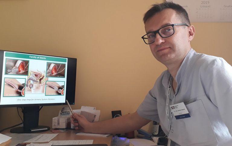 Jarosław Jaskulski – Kierownik Kliniki Urologii Świętokrzyskiego Centrum Onkologii 768x576