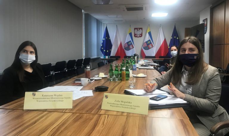 Obrady Prowadziły Przewodnicząca Zofia Mogielska Oraz Wiceprzewodnicząca Katarzyna Wojdan