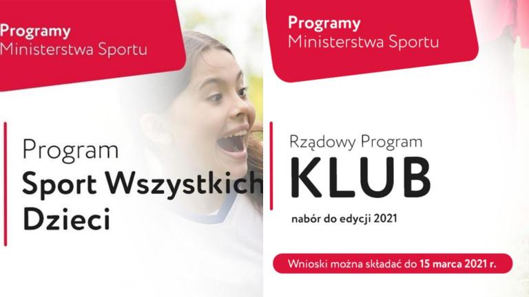 Programy Sportowe Ministerstwa