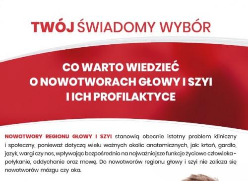 Wiedza Na Temat Nowotworów Broszura Skrócona