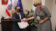 Gratulacje Z Rąk Wicemarszałek Renaty Janik