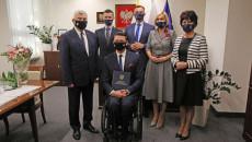 Wręczenie Piotrowi Pawełko Powołania Na Rzecznika Ds Osób Z Niepełnosprawnościami