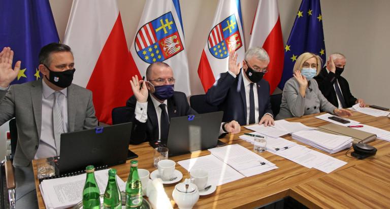 posiedzenie Zarządu Województwa