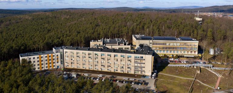 Wojewódzki Szpital Specjalistyczny W Czerwonej Górze Widok Z Drona