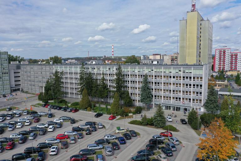 urząd marszałkowski widok na budynek z drona