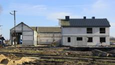 Ośrodek Edukacji Przyrodniczej na Ponidziu w Umianowicach w trakcie budowy