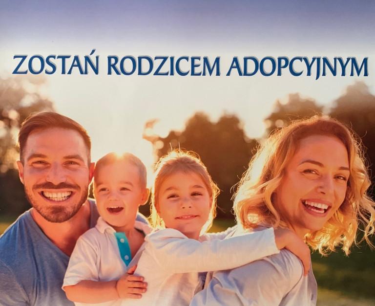Plakat Zostań Rodzicem Adopcyjnym