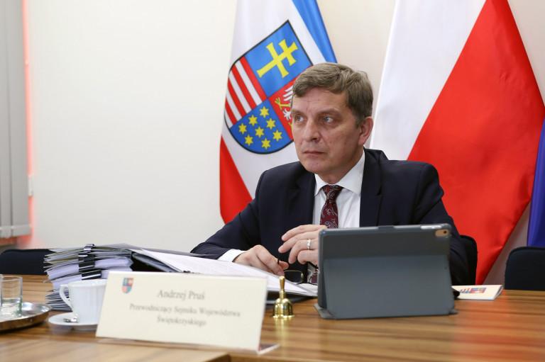 Przewodniczący Sejmiku Andrzej Pruś