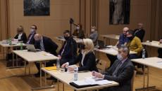 Uczestnicy Spotkania Przy Stolikach, Sala Kameralna Filharmonii Świętokrzyskiej