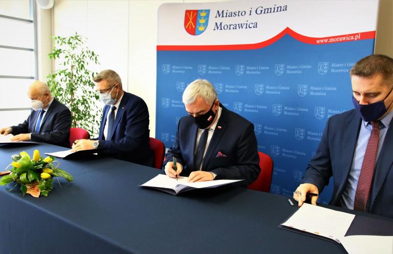 Podpisanie Listu Intencyjnego W Urzędzie Miasta I Gminy W Morawicy