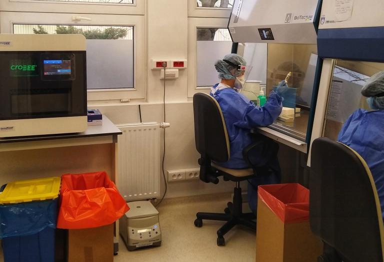Rozbudowana Pracownia Biologii Molekularnej Wojewódzkiego Szpitala Zespolonego w Kielcach