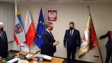 ślubowanie Nowego Radnego Sejmiku Józefa Bryka