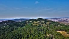 Góry Świętokrzyskie Pasmo Posłowickie Telegraf