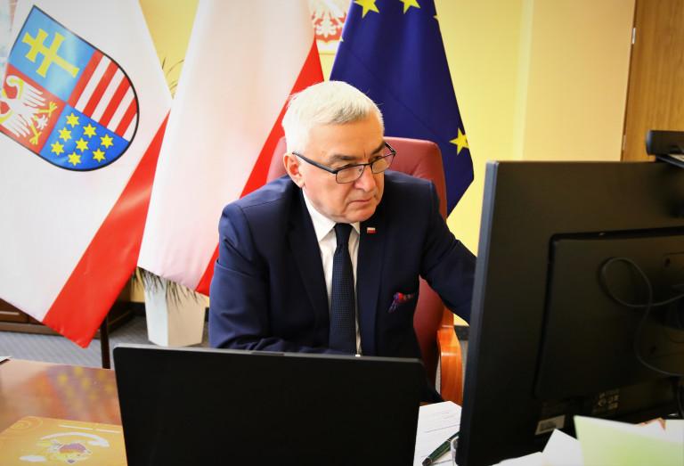 Marszałek Wojwództwa Podczas Konwentu Marszałków
