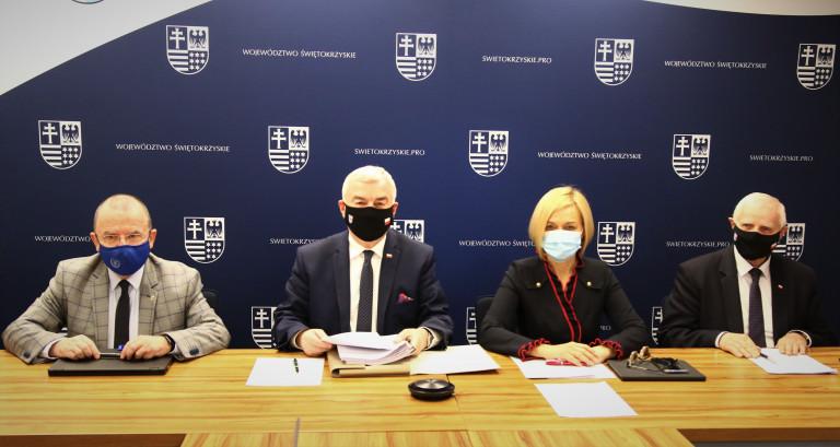 Posiedzenie Zarządu Województwa Świętokrzyskiego