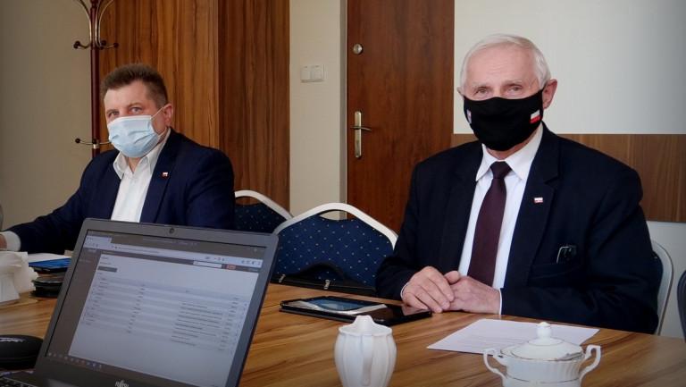 Radny Sejmiku Artur Konarski I Członek Zarządu Marek Jońca