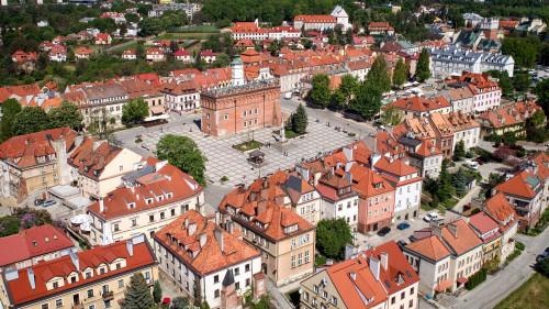 Sandomierz - widok z góry