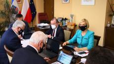 Zarząd Województwa Podczas Obrad Sejmiku