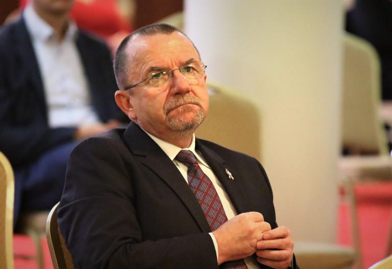 Wicemarszałek Marek Bogusławski uczestniczy w konferencji medycznej