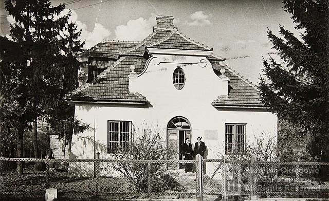 Budynek Polskiego Towarzystwa Krajoznawczego. Siedziba Muzeum Ziemi Sandomierskiej. Lata 30. Xx W