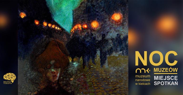 Grafika Promująca Noc Muzeów W Muzeum Narodowym W Kielcach