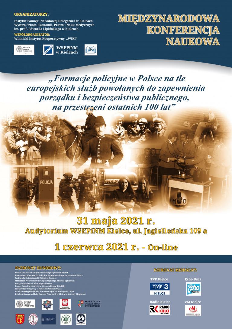 Konferencja Formacje Policyjne