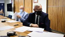 Marszałek Andrzej Bętkowski Przewodniczy Posiedzeniu Wrds