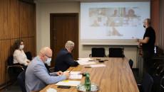 Posiedzenie Online Prezydium Wojewódzkiej Rady Dialogu Społecznego W Kielcach
