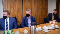 Samorządowcy Poczas Spotkania W Sprawie Powołania Społecznej Inicjatywy Mieszkaniowej
