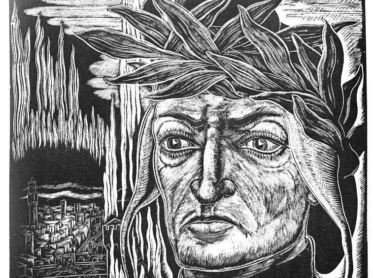 Grafika Stefana Mrożewskiego Dante Alighieri