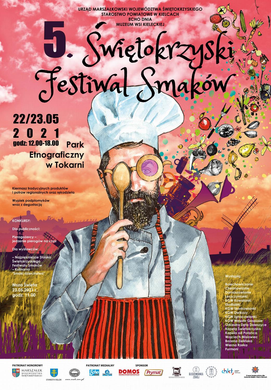 Plakat świętokrzyski Festiwal Smaków