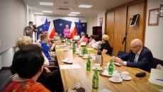 Członkowie Świętokrzyskiej Rady Seniorów Podczas Obrad