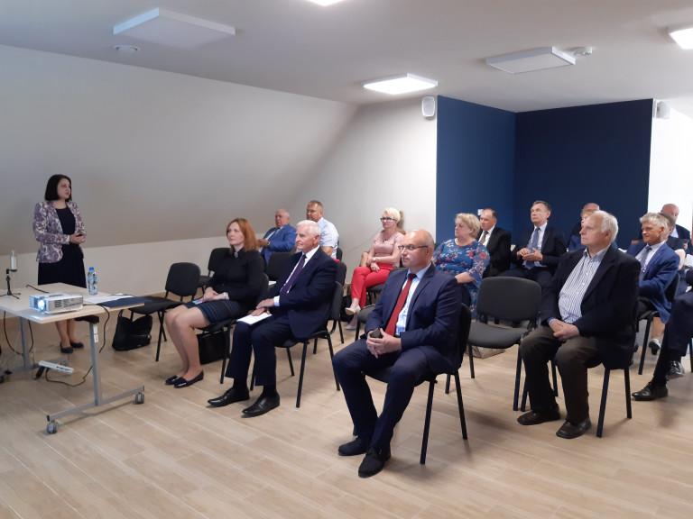 Marek Jońca, Członek Zarządu Województwa Świętokrzyskie Uczestniczy W Spotkaniu Rady Partnerstwa Ziemia Opatowska