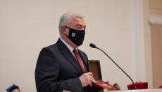 Marszałek A. Bętkowski Podczas Przemówienia Po Otrzymaniu Odznaczenia.