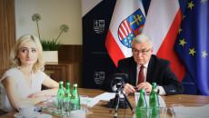 Marszałek Andrzej Bętkowski Podczas Konferencji