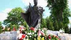 Pomnik Świętego Jana Pawła Drugiego W Masłowie