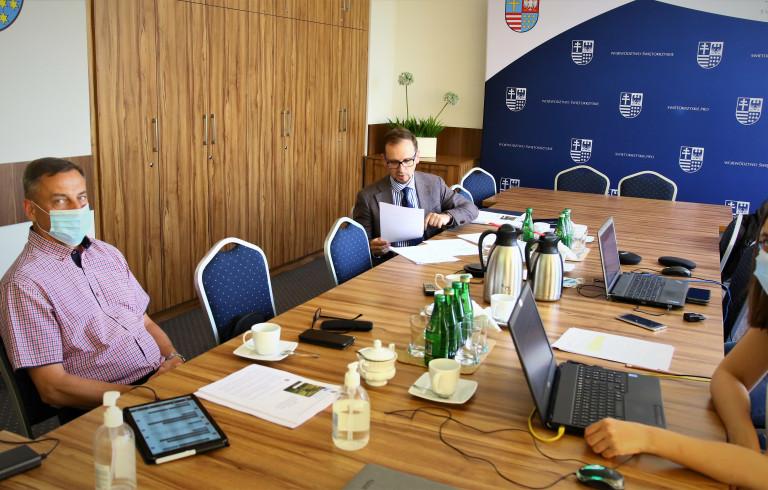 Posiedzenie Komisji Edukacji, Sportu I Turystyki 18.06.2021.