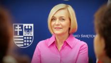 Wicemarszałek Województwa Renata Janik Podczas Spotkania