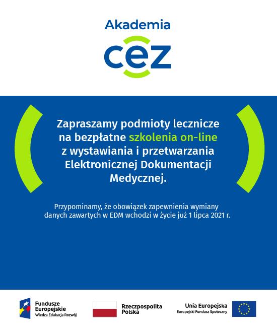 Banner projetu szkoleniowego