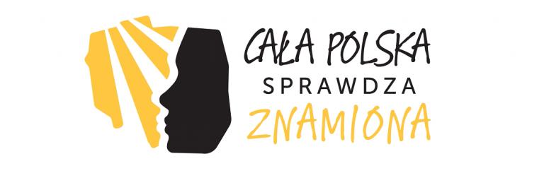 Logo Programu Profilaktycznego Ludzka Twarz W Tle Zarys Polski