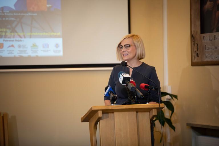 Wicemarszałek Renata Janik
