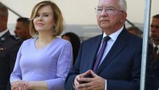 Krzysztof Lipiec i Anna Krupka